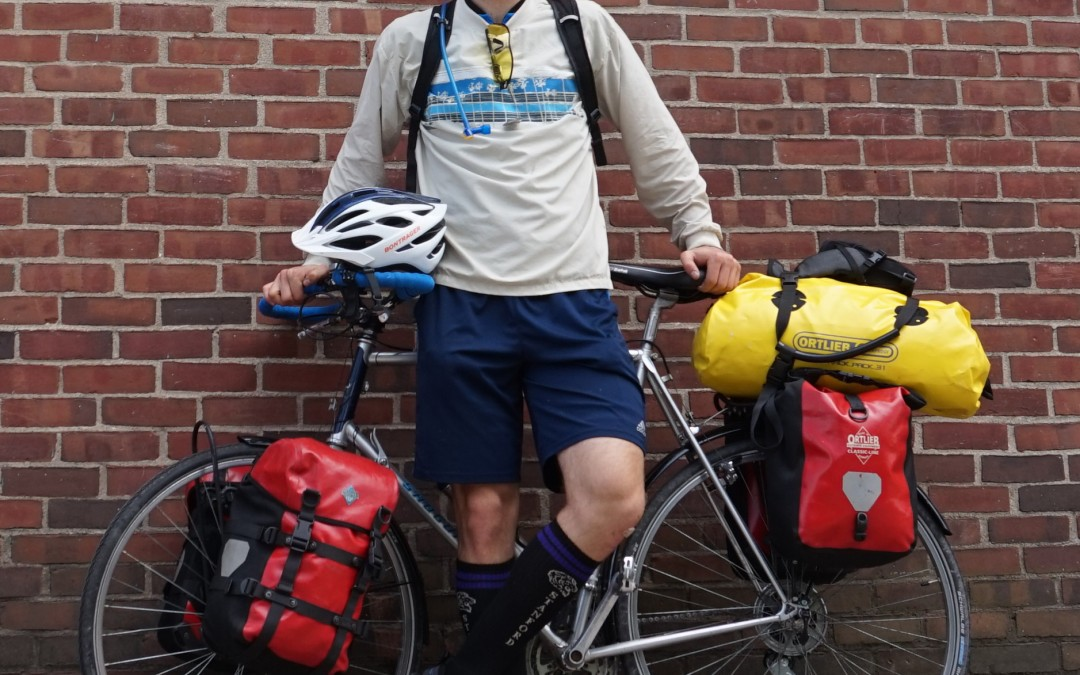 Two Stamps Scholars Spend their Summer Biking Across the Country
