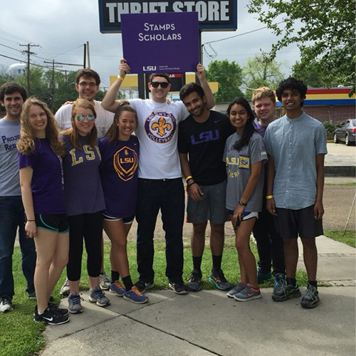 Louisiana State University Stamps Scholars Lead Disaster Relief Effort