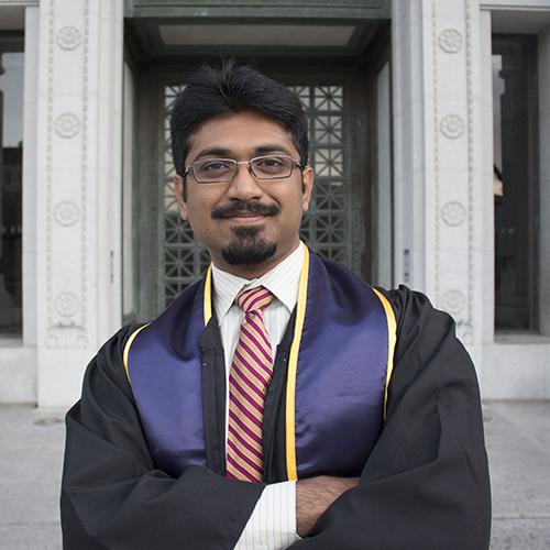 Vidush Mukund, Berkeley