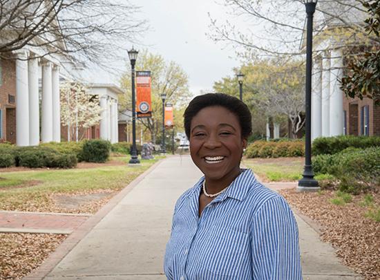 Oge Onuh, Mercer University - Stamps Family Charitable Foundation