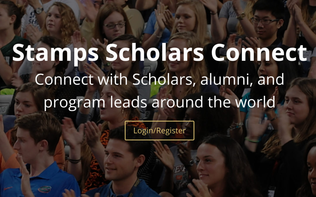 Introducing: Stamps Scholars Connect!