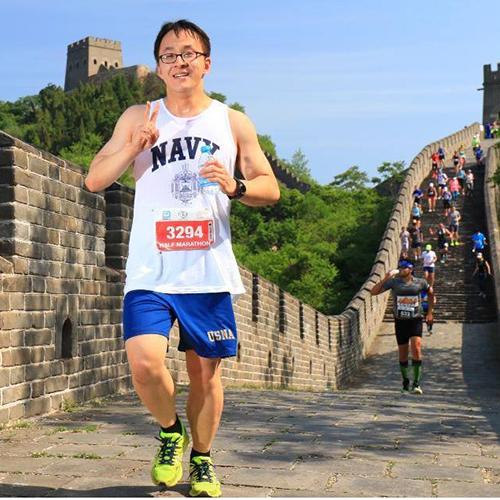Andrew Zhao, Naval Academy